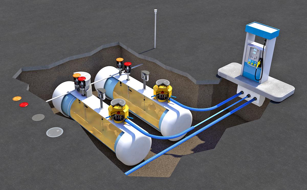 Техника безопасности и охрана труда при эксплуатации автозаправочных станций и нефтебаз
